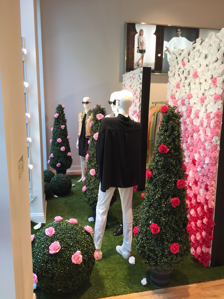 Floral Wall Display for Bogner