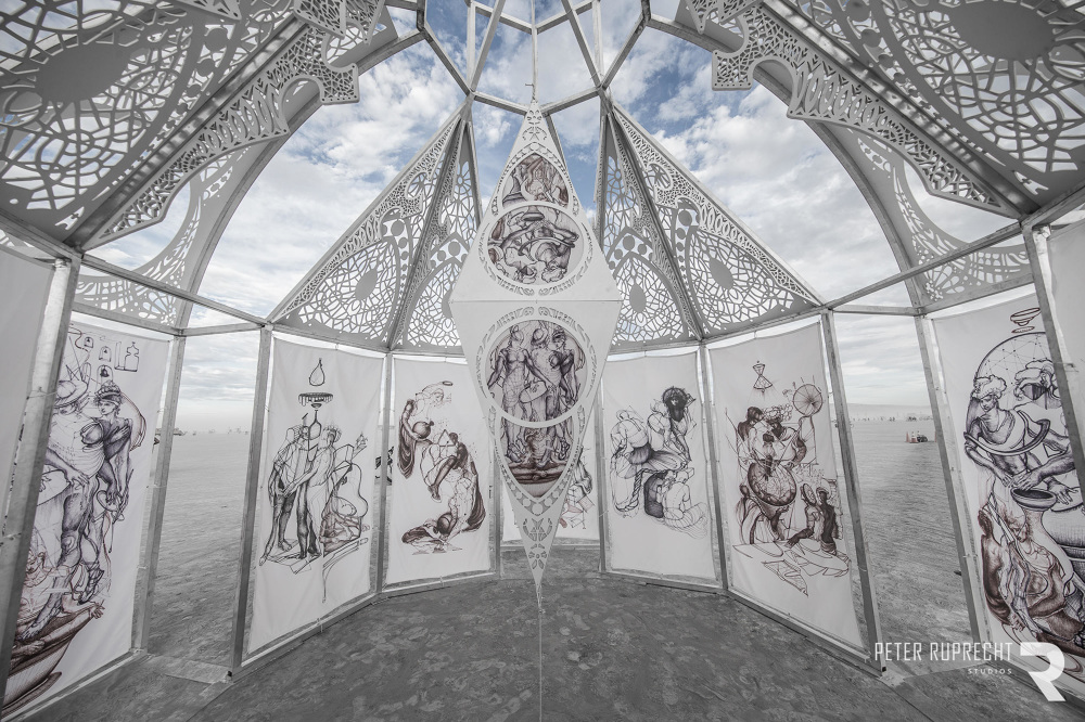 Printed Banners for Maria Kreyn Burning Man Festival  2016