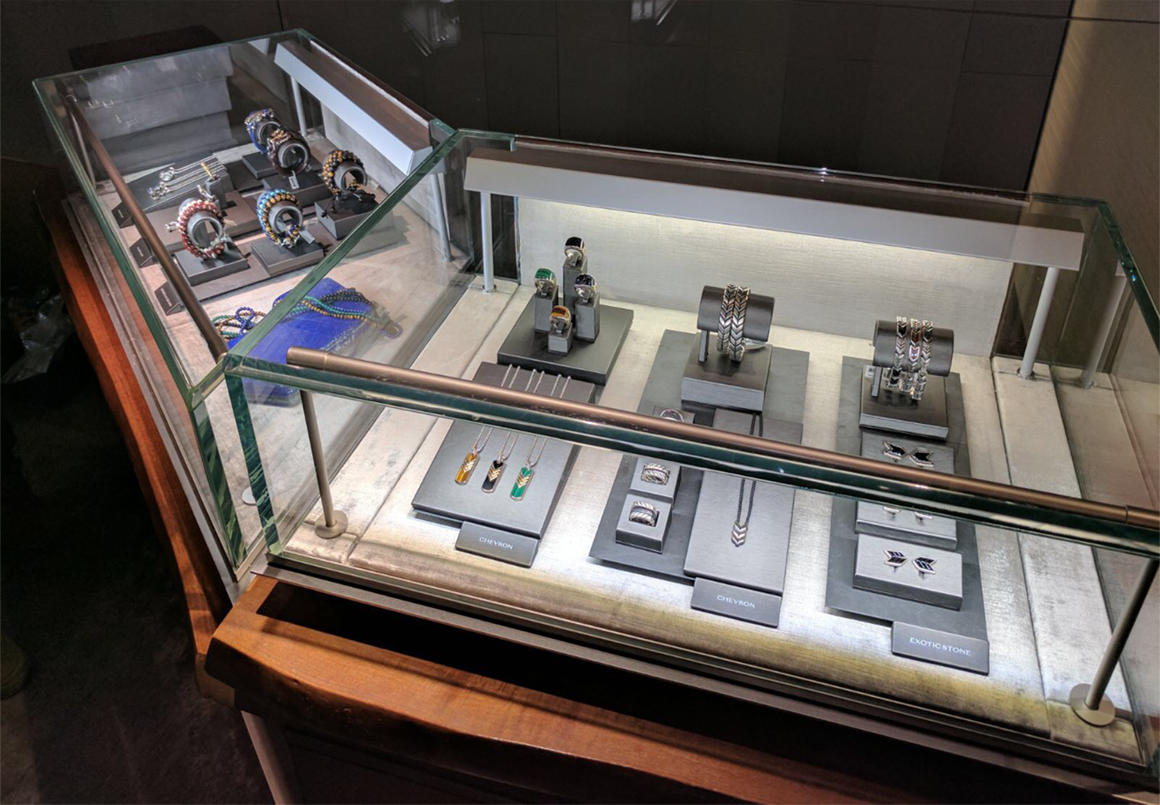 Jewelry Displays for David Yurman