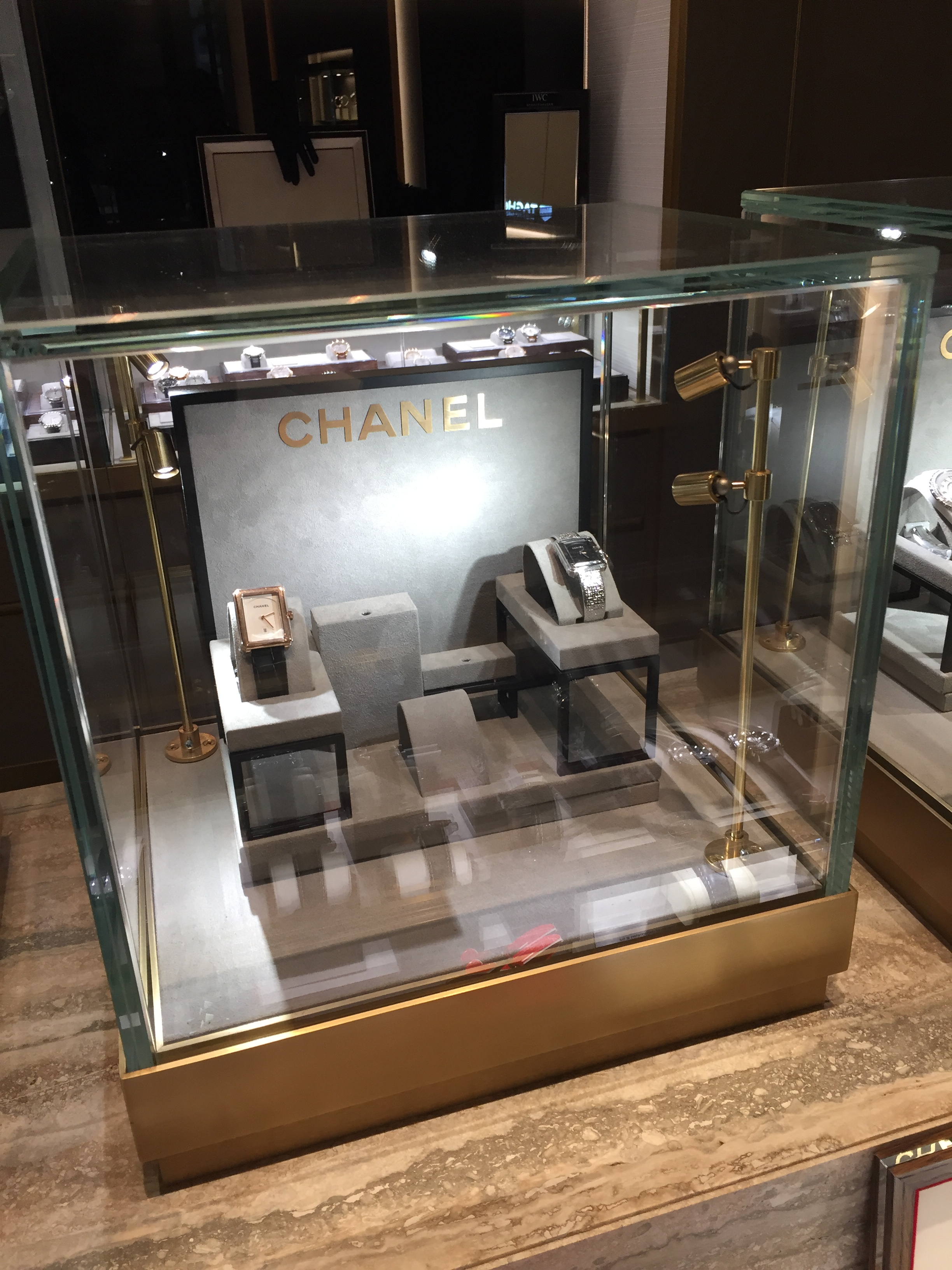 Watch Display for Chanel