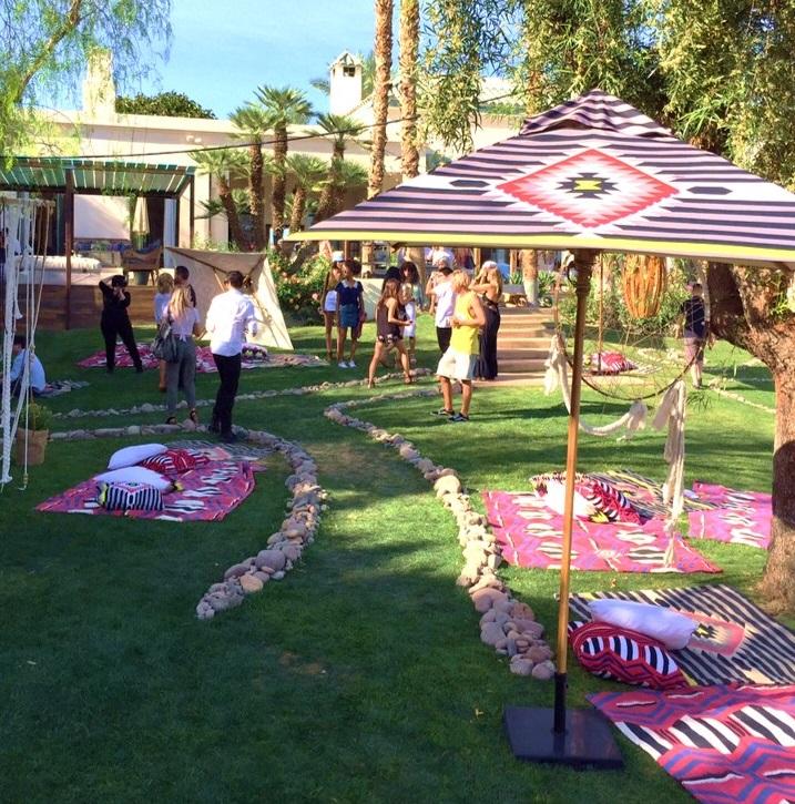 Umbrellas for Coachella
