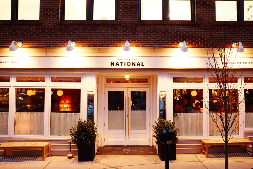 Cafe Curtains for The National