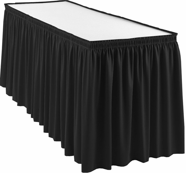 Velcro Expo Cloth Table Skirt