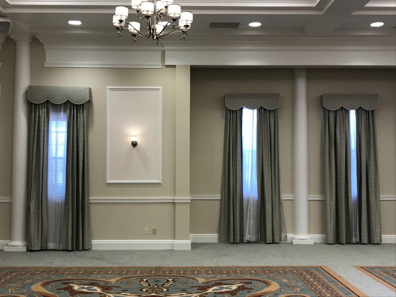 Drapes, Sheers and Boxed Valance