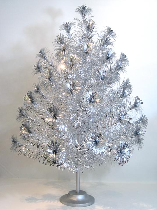 Silver Pom Pom Tree