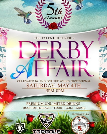 It's about that time again for the @the_talented_10th Annual Derby Affair. Tickets are in high demand so please don't wait or hesitate.  For a discount please use promo code: BELLOMO - - - -  #celebrating5  #derbyV  #derbyaffair  #derbyfresh