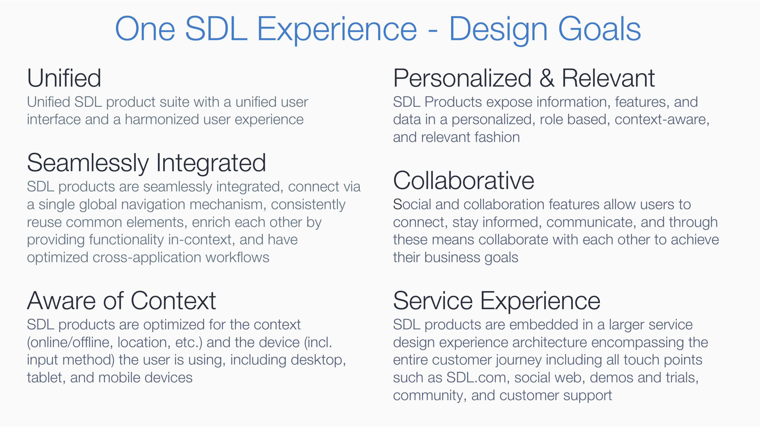 Ux Strategy And Design System For A Customer Experience Cloud Platform Divergent Thinking