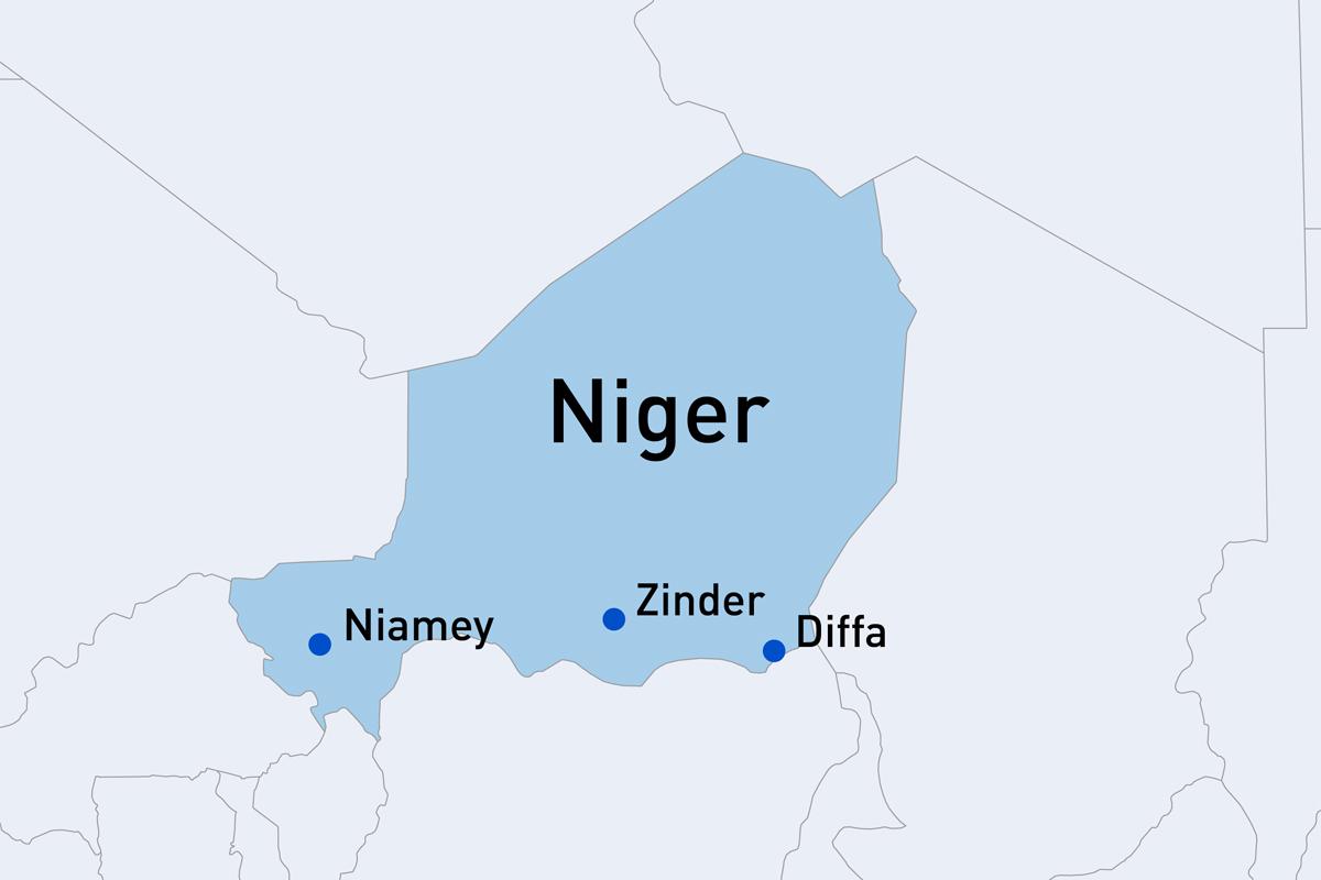 Niger - Niamey / Zinder / Diffa