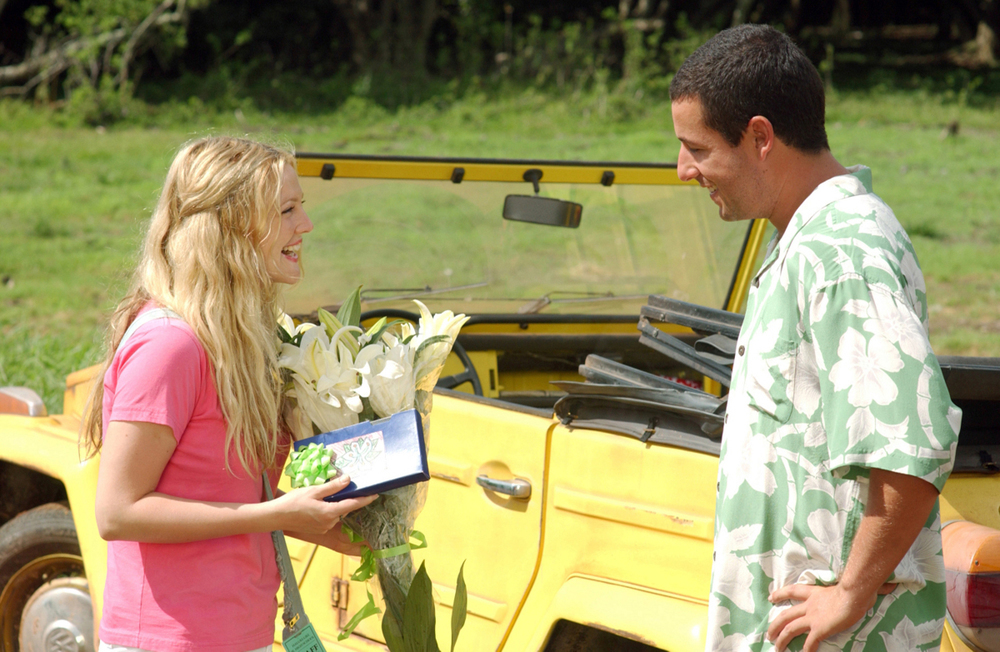 Henry meeting Lucy with her favorite flowers and a movie that will change her life.