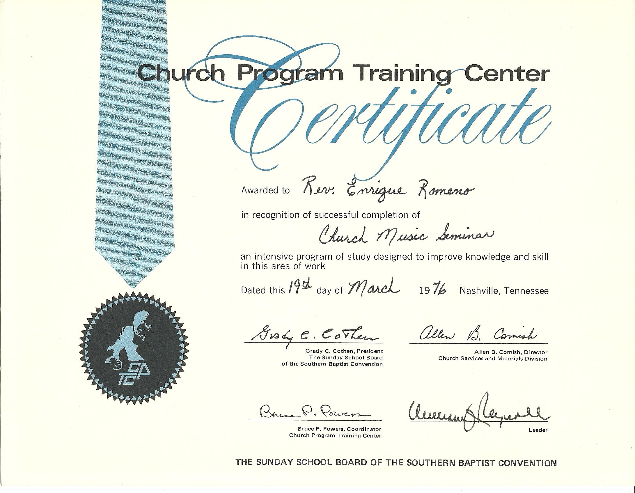 1976 - Church Music Training Cert.jpg
