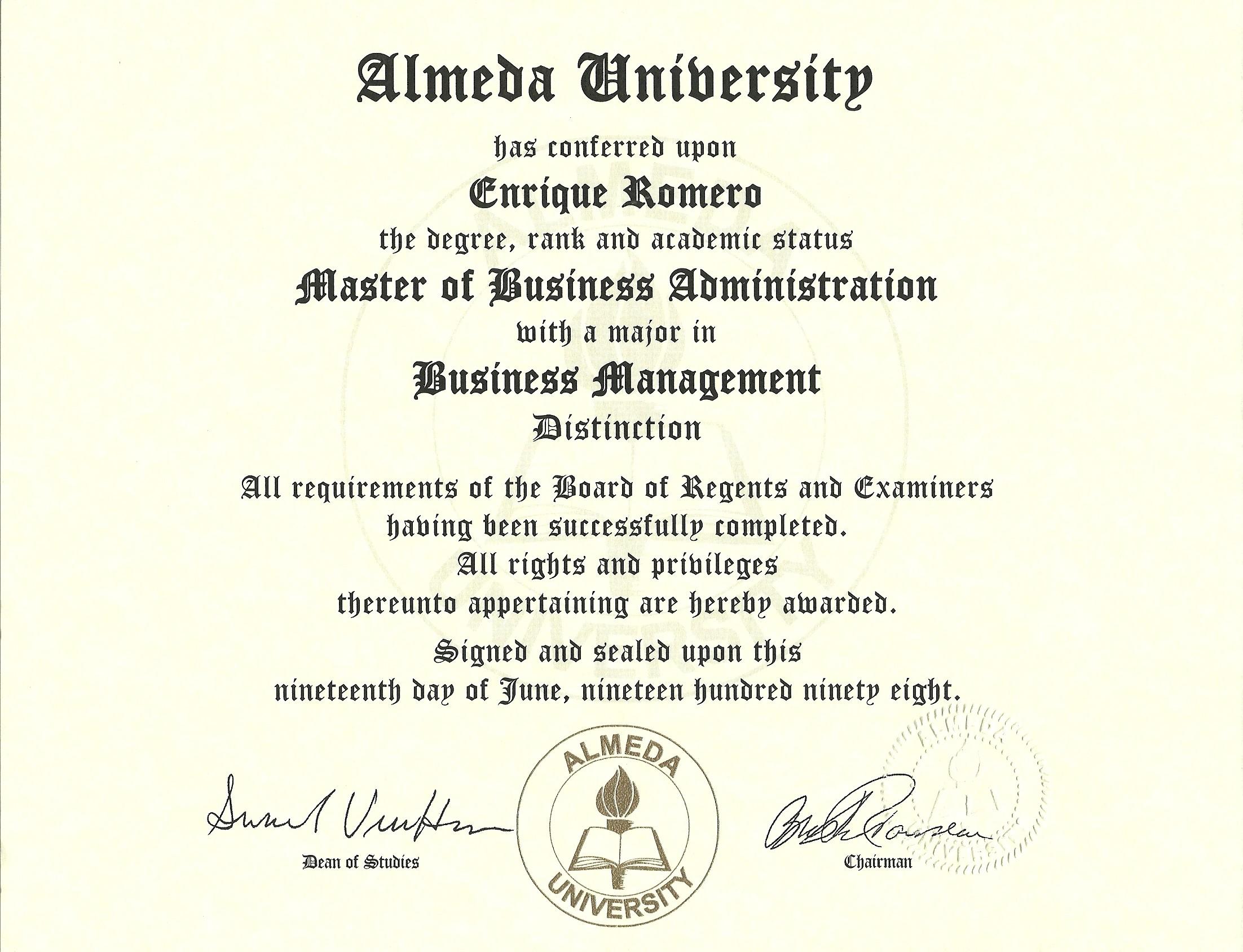 1998 - Almeda University.jpg
