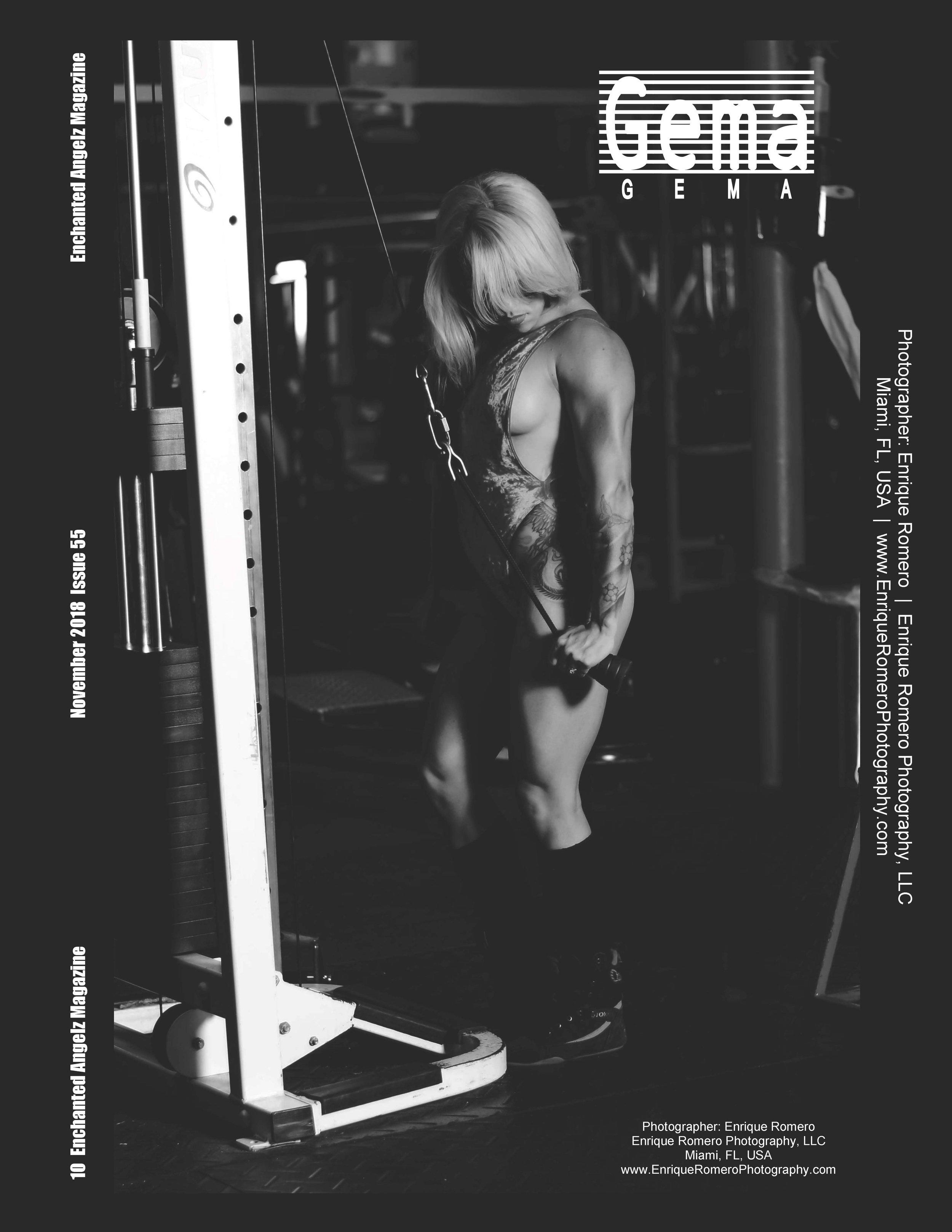 Fitness Photo Shoot Enchanted Angelz Magazine
