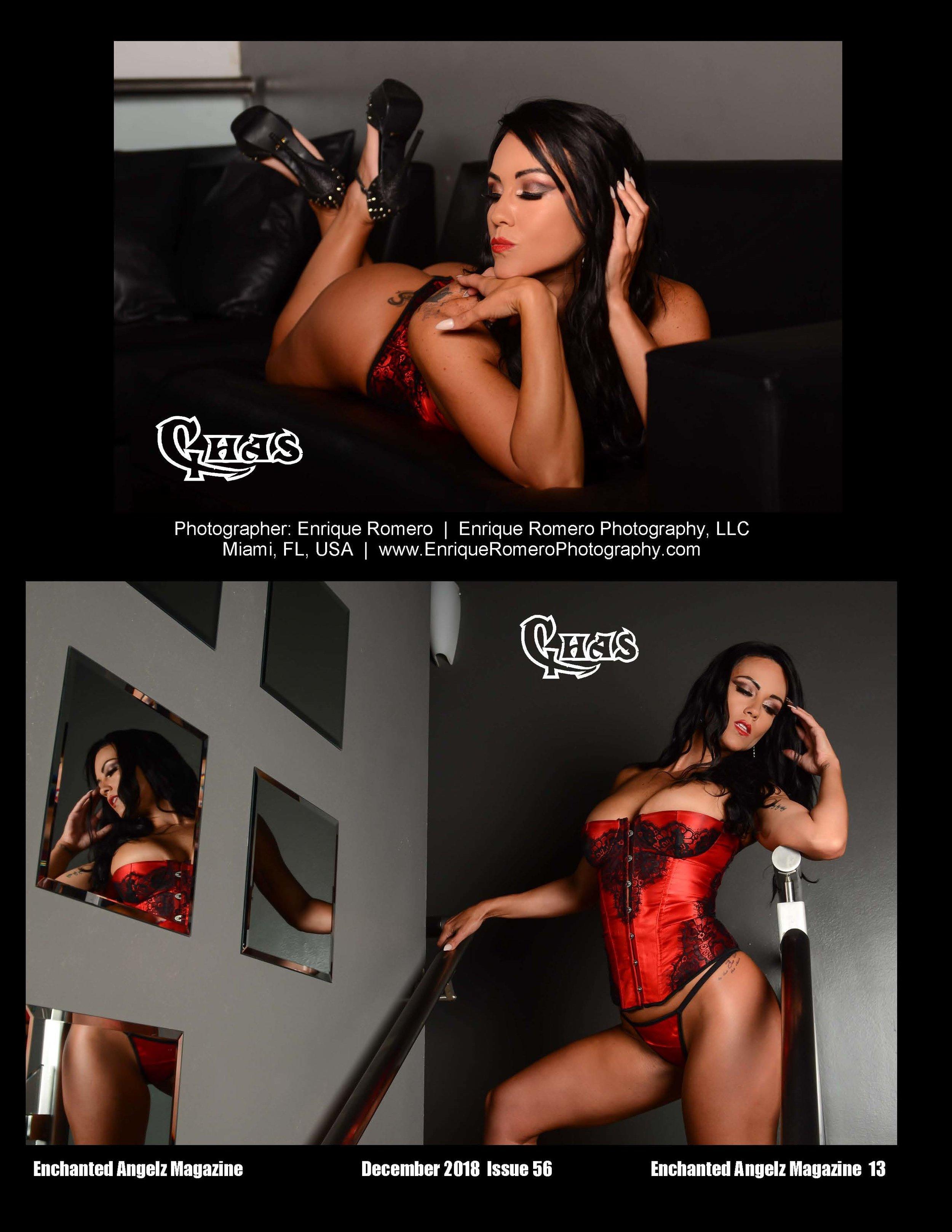 Lingerie Photo Shoot Enchanted Angelz Magazine
