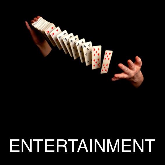 Magicians, Caricaturists etc.