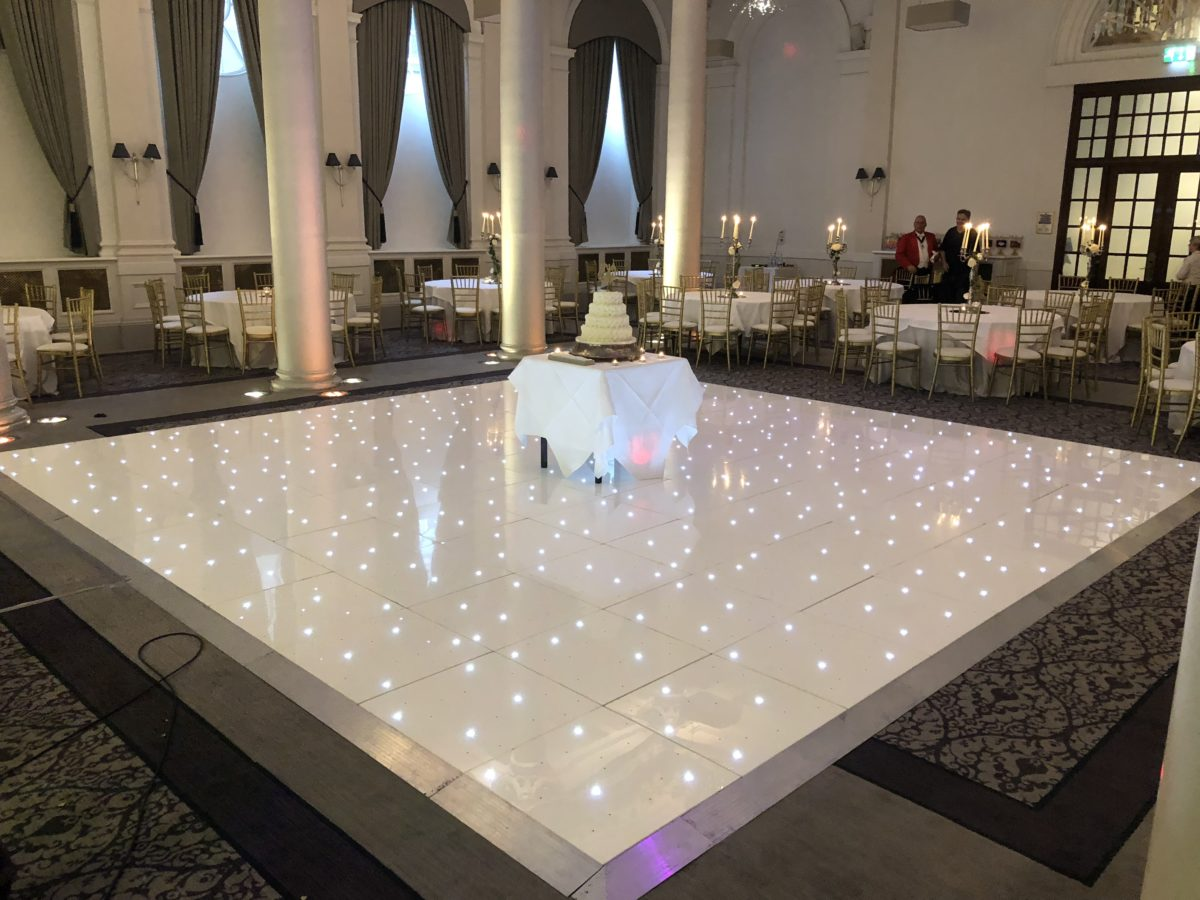 20x20 WHITE LED DANCEFLOOR