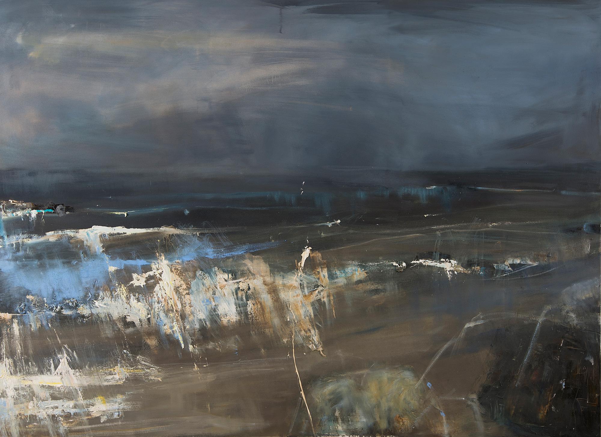 Midnight Waves.  Oil on canvas. 170 x 230cm  NFS