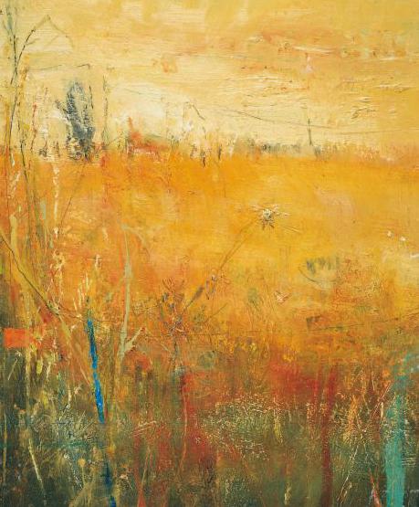 Summer Haze, Wicca . Oil on board. 36 x 30cm  Sold