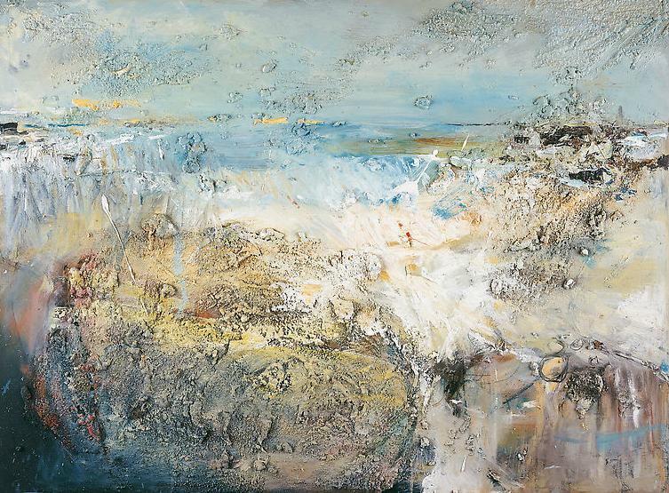 October Tides, Godrevy.  Oil on board. 90 x 122cm  NFS