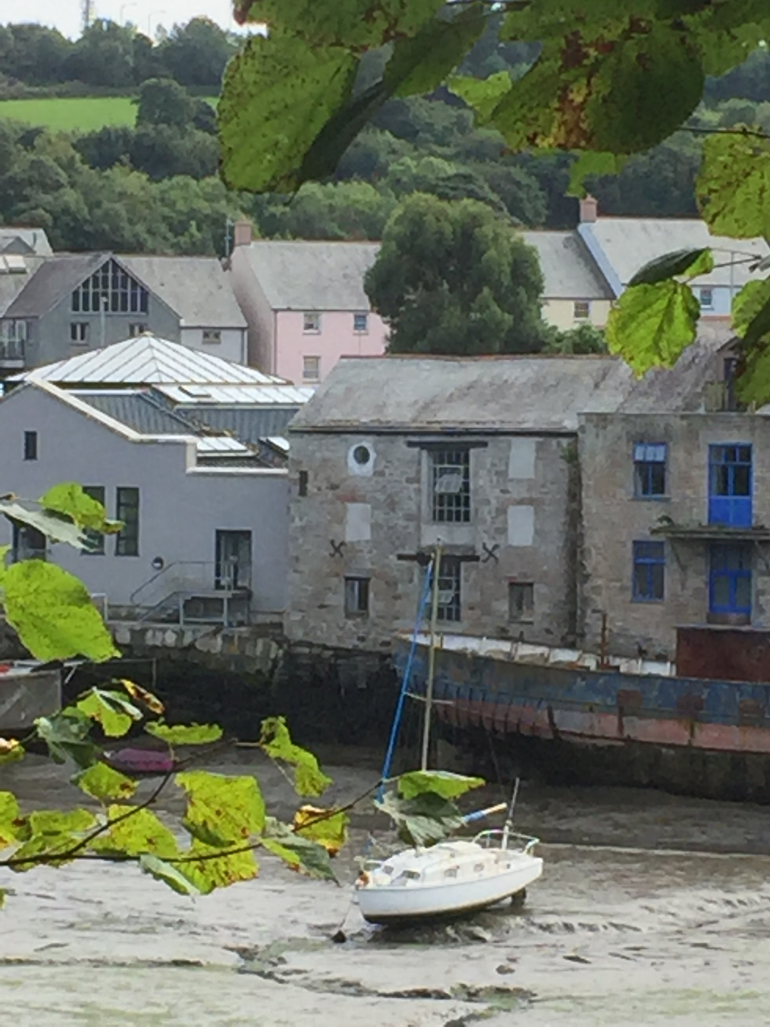 Grays Wharf in the middle, view's better when the tide's in!