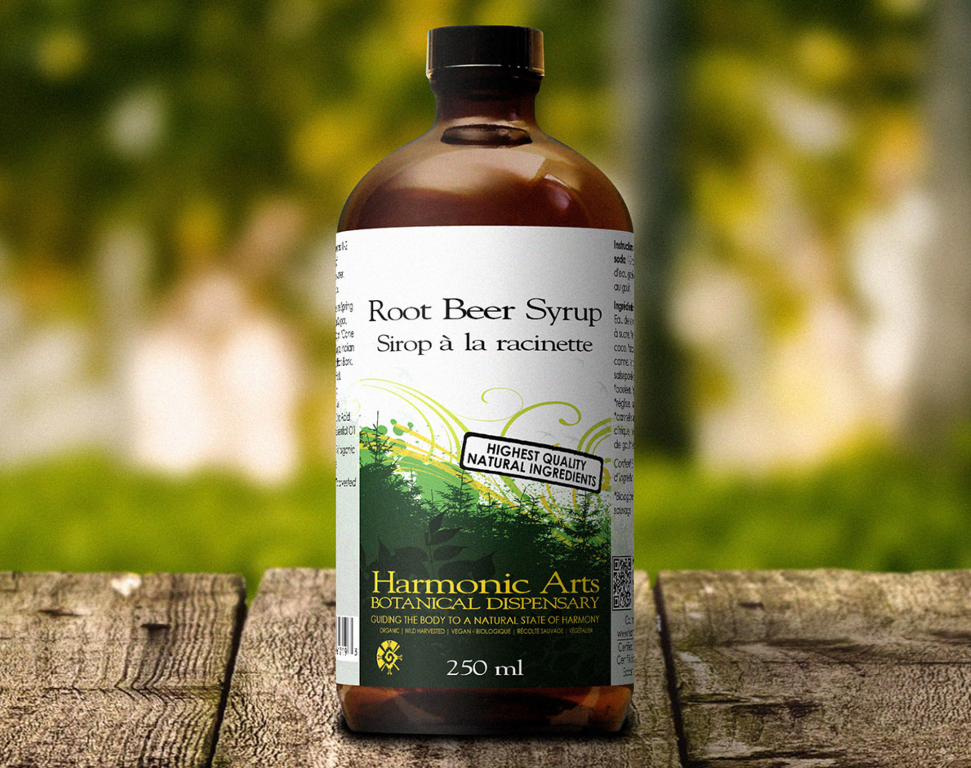 Harmonic Arts - Root Beer Syrup