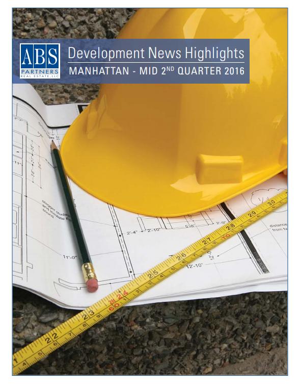 Development News Manhattan | StudioTJOA Vision