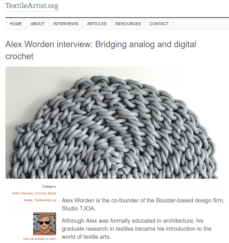 Textile Artists | Interview