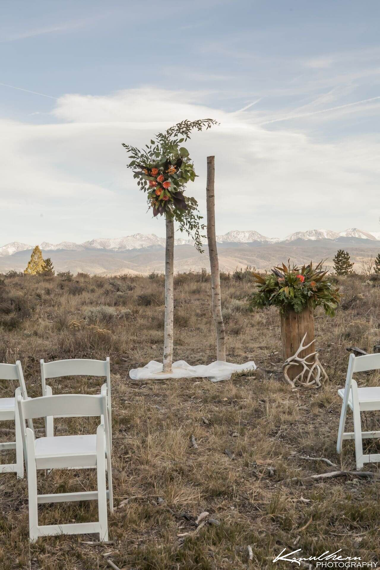 The Landing Pad Wedding Site Antler Basin Ranch Grand County CO
