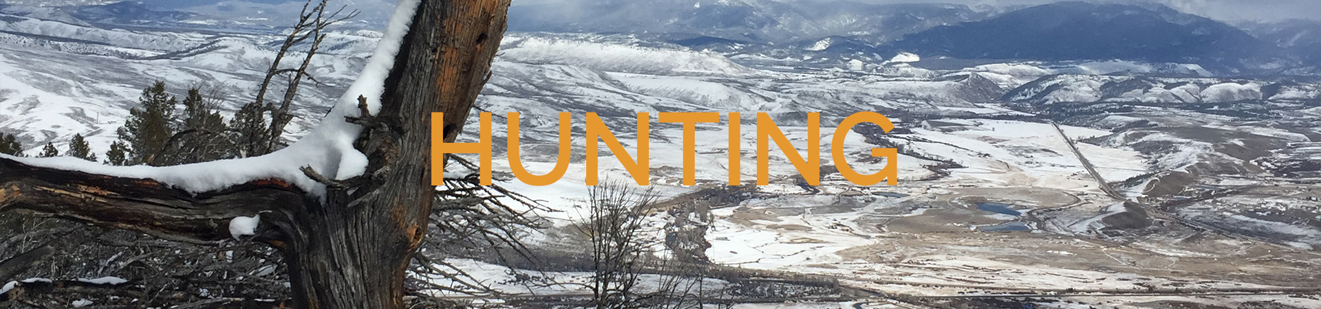 Hunting Grand County Colorado