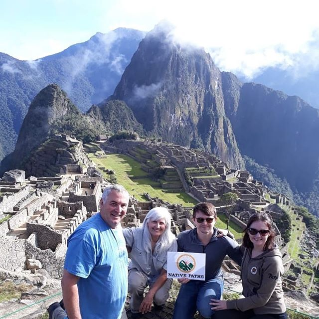 Thank you for visiting Machu Picchu with us!  Catching up with some #latepost from earlier this month 😉 •