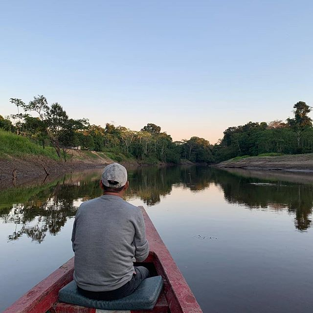 The west side of the #Amazon has a very unique and distinctive fauna. Recently, we were visiting local communities and learning more about their lifestyle.