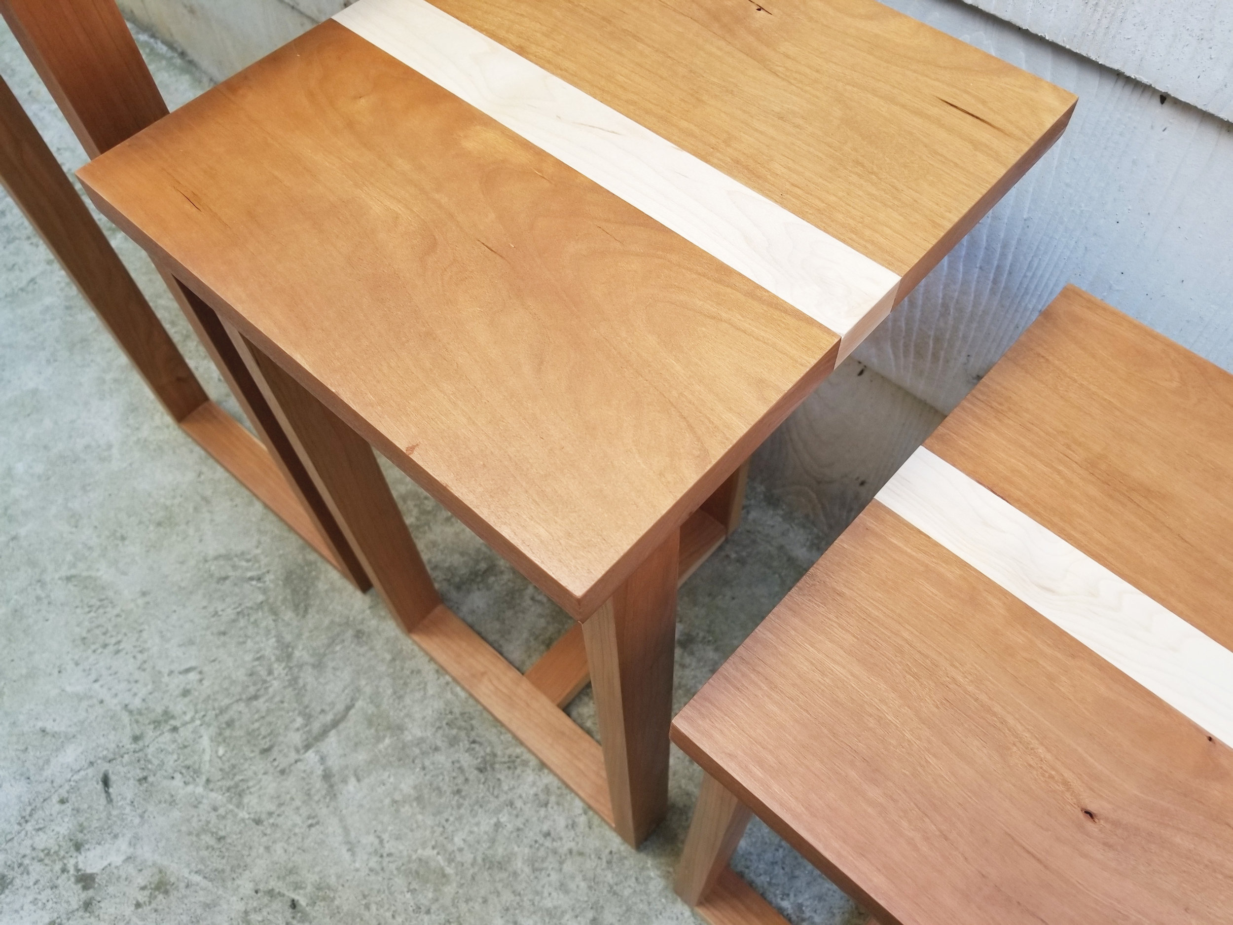 HAWTHORNE PLANT STANDS - IN SOLID CHERRY