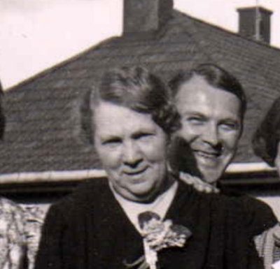 Thor's mother, Hilda, and Thor, 1938