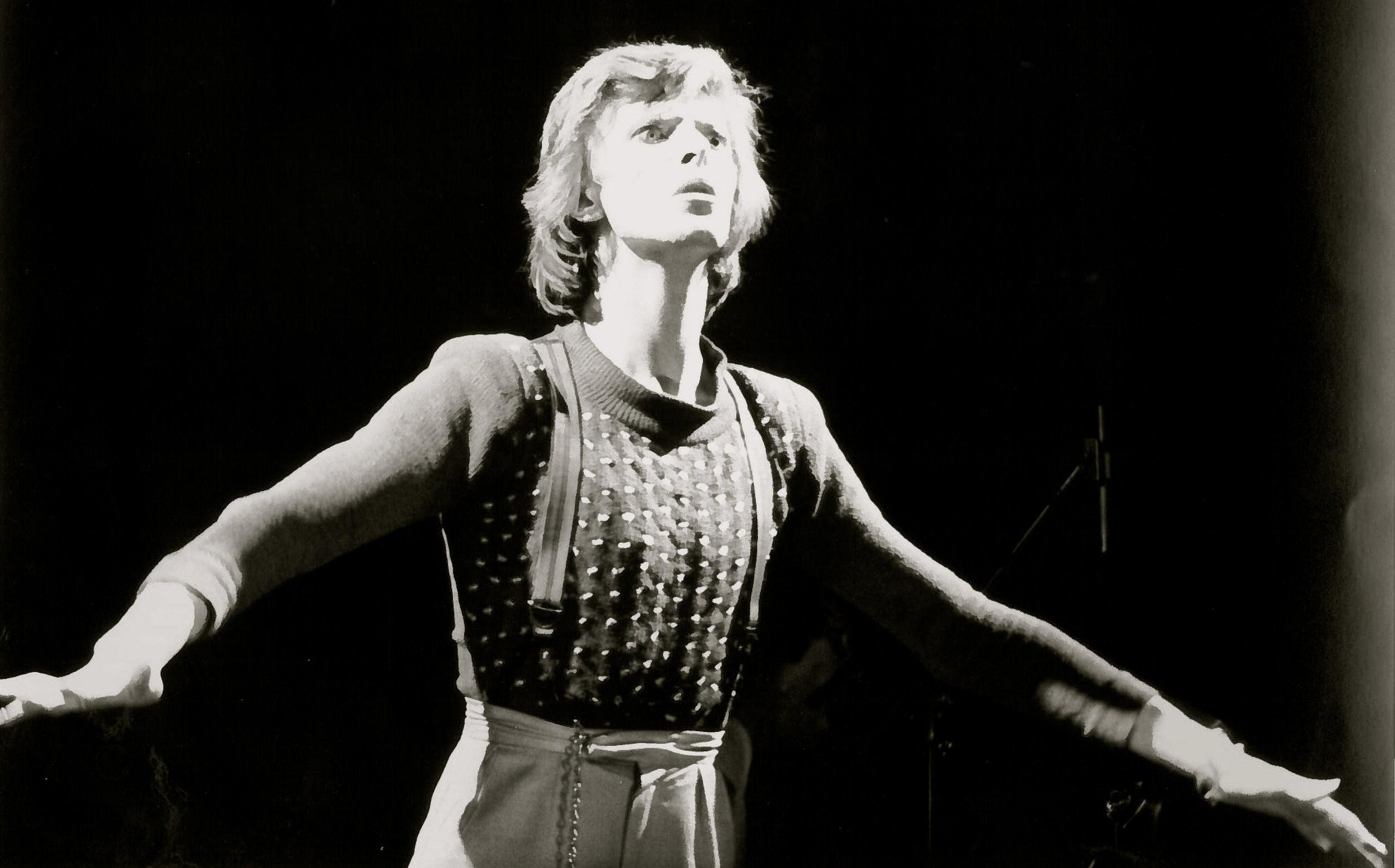 David Amos,  David Bowie (1),  1974/2018