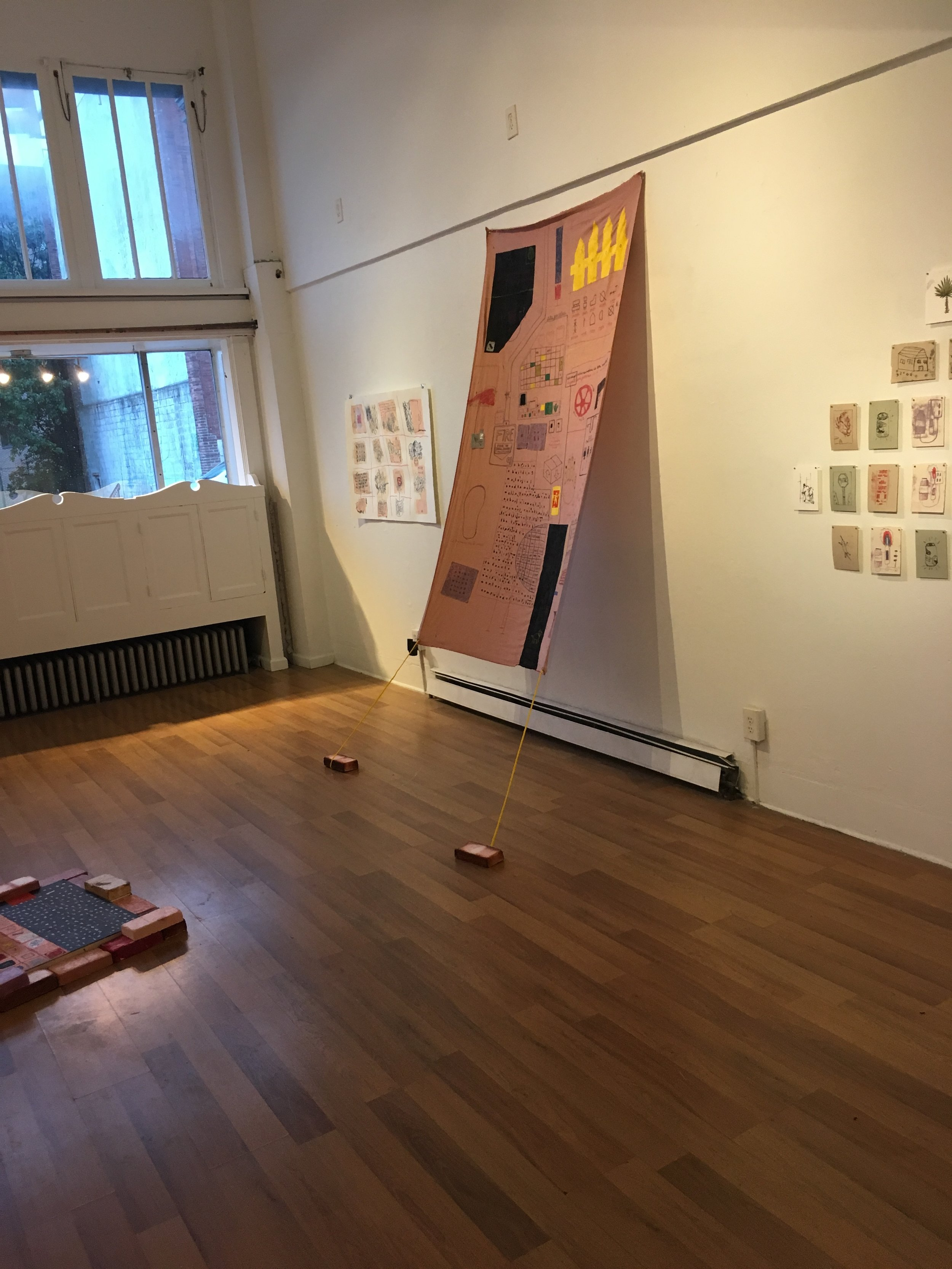 a gentle synthesis (installation view)