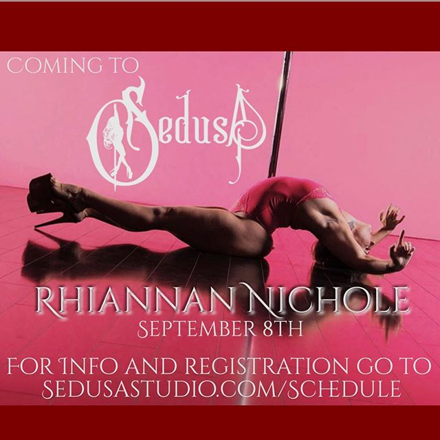 So excited to have this mega babe, master of old school slink @rhiannan.nichole joining us at Sedusa in September! Sign up for her workshops asap, they sold out last time ♥️ #sedusaslinksquad #rhiannannichole #bayareadance