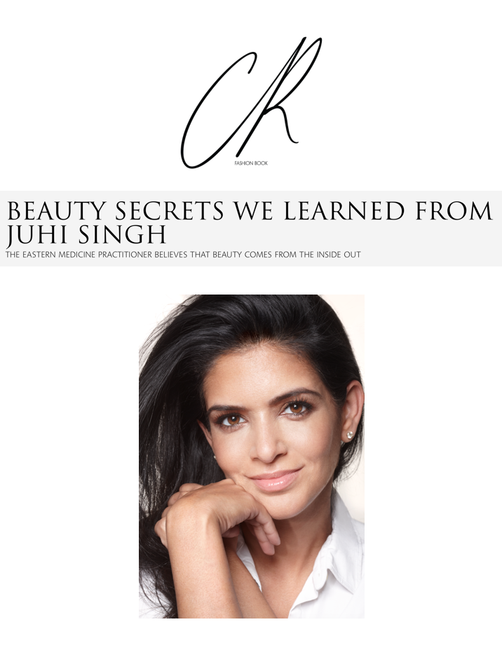 CR FASHION BOOK   Here, the wellness guru speaks with  CR  about micro-needling, her daily beauty ritual, and how to combat fine lines and wrinkles without botox.