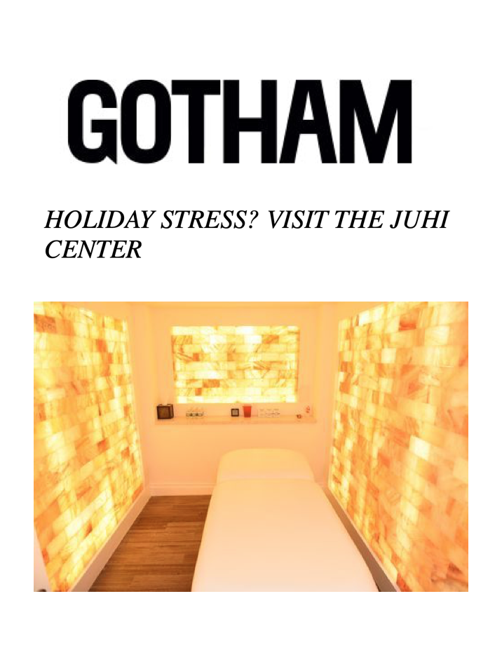 GOTHAM  The Juhi Center is the go-to place for professional athletes and models and industry people, including Winnie Harlow, Carine Roitfeld, and more.