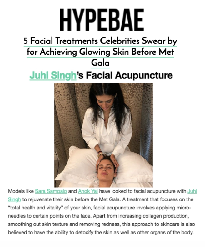 HYPEBAE   5 Facial Treatments Celebrities Swear by for Achieving Glowing Skin Before Met Gala