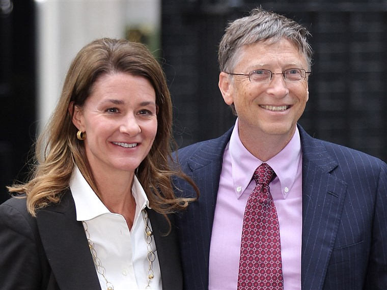 Melinda & Bill Gates