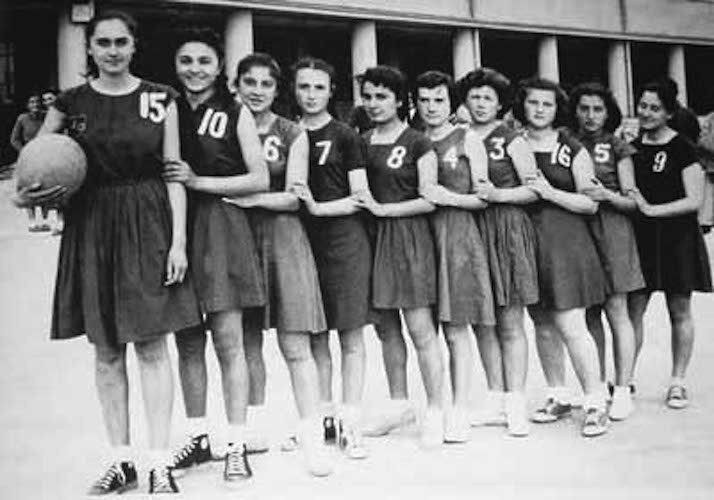 1940's girls gym clothes
