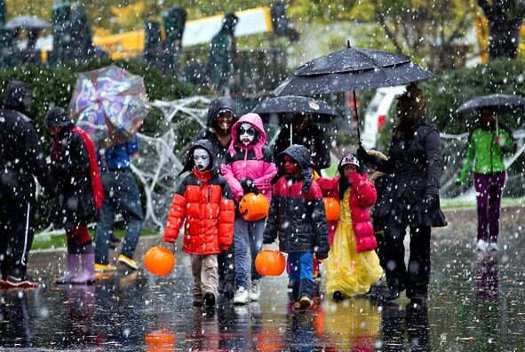 Or maybe your Fall Carnival takes place in a blizzard!