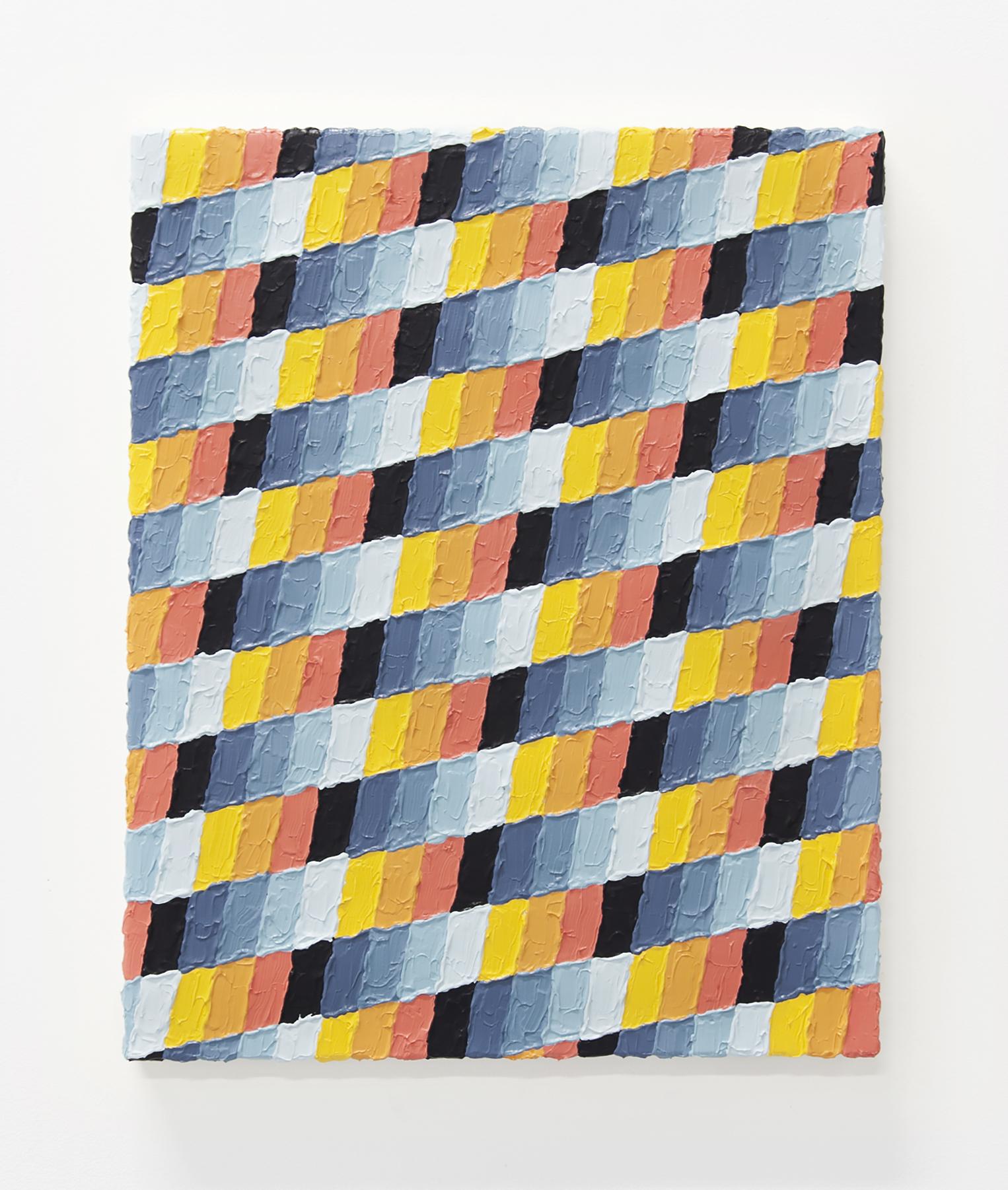 A Cautionary Tale, A Humble Brag  Acrylic, canvas  20 x 24 inches  2014