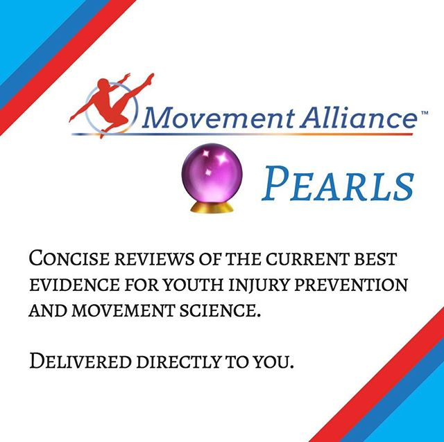 Introducing: Movement Alliance Pearls 🔮 . . From now on, many of our posts will be named Movement Alliance Pearls 🔮. These pearls will be a look at the literature 📚, a review of the research 🤔, or a summary of the science 🔬. All concisely and conveniently delivered to your eyes 👀. . . Stay tuned for the next #MovementAlliancePearl #movementscience #injuryprevention #DPT #SPT #youthsports #physicaltherapy #longevity #mvmtalliance