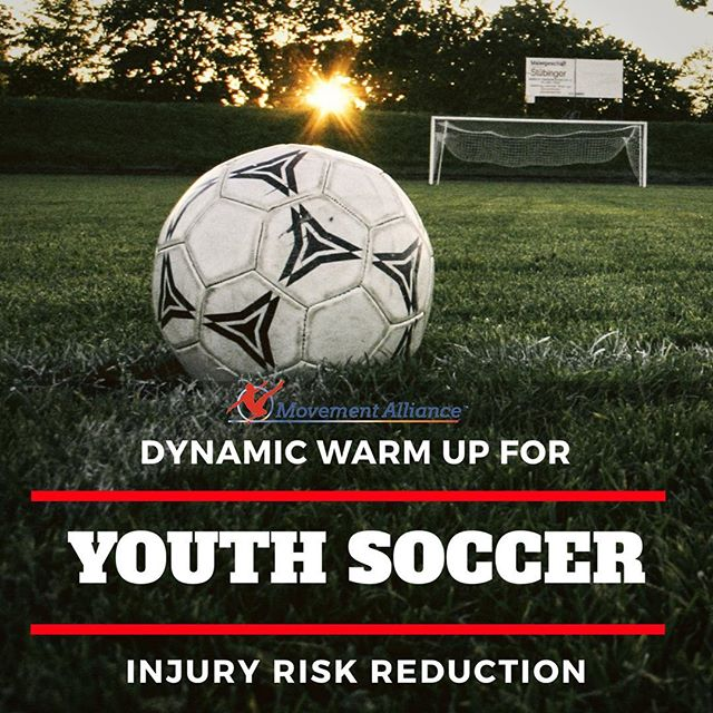 #MovementAlliancePearl — 4 🔮 ⚽️ Soccer is the world's most popular team sport with approximately 265 million registered participants, and about 56.3% of those being under the age of 18. . . 🥅 The FIFA 11+ was designed to help reduce the risk of injury in soccer players. It has 3 primary components: .  1️⃣Running exercises at slow speeds with active stretching and controlled contact with other players.  2️⃣Six different sets of exercises including strengthening, balance training, and jumping – each set of exercises having 3 levels of increasing difficulty, and  3️⃣Speed running combined with soccer-specific movements and change of directions. . . 🔸The FIFA 11+ is meant to be used as a 20 minute warm-up prior to each training session. . 🔸The basis of the FIFA 11+ is to encourage players to perform quality movements. There is an emphasis on core stability, hip control, and proper knee alignment (i.e., staying away from the knee valgus position). Coaches and other players are meant to give feedback on the performance of each task. . . 🔸Two different cluster RCT's showed a significant reduction in overall injury incidence in youth soccer teams who performed the FIFA 11+ as part of their warm-up. ➡️Soligard et. al. studied the effectiveness of the FIFA 11+ in 13-17 year old female soccer players and showed that the risk of injury was reduced by about a third in the intervention group. ➡️Owoeye et. al. had similar results in 14-19 year old elite male soccer players. In this study, there was a decreased rate of overall injury in the intervention group by about 41% and a decrease in the rate of lower extremity injury by about 48%. . . 🔸Compliance with the intervention program, as well as introducing the program during the pre-season and maintaining it throughout the season, and implementation at younger ages before players establish their basic movement patterns are recommended for optimal injury risk reduction rates. . . For further questions, contact us through the link in our bio.