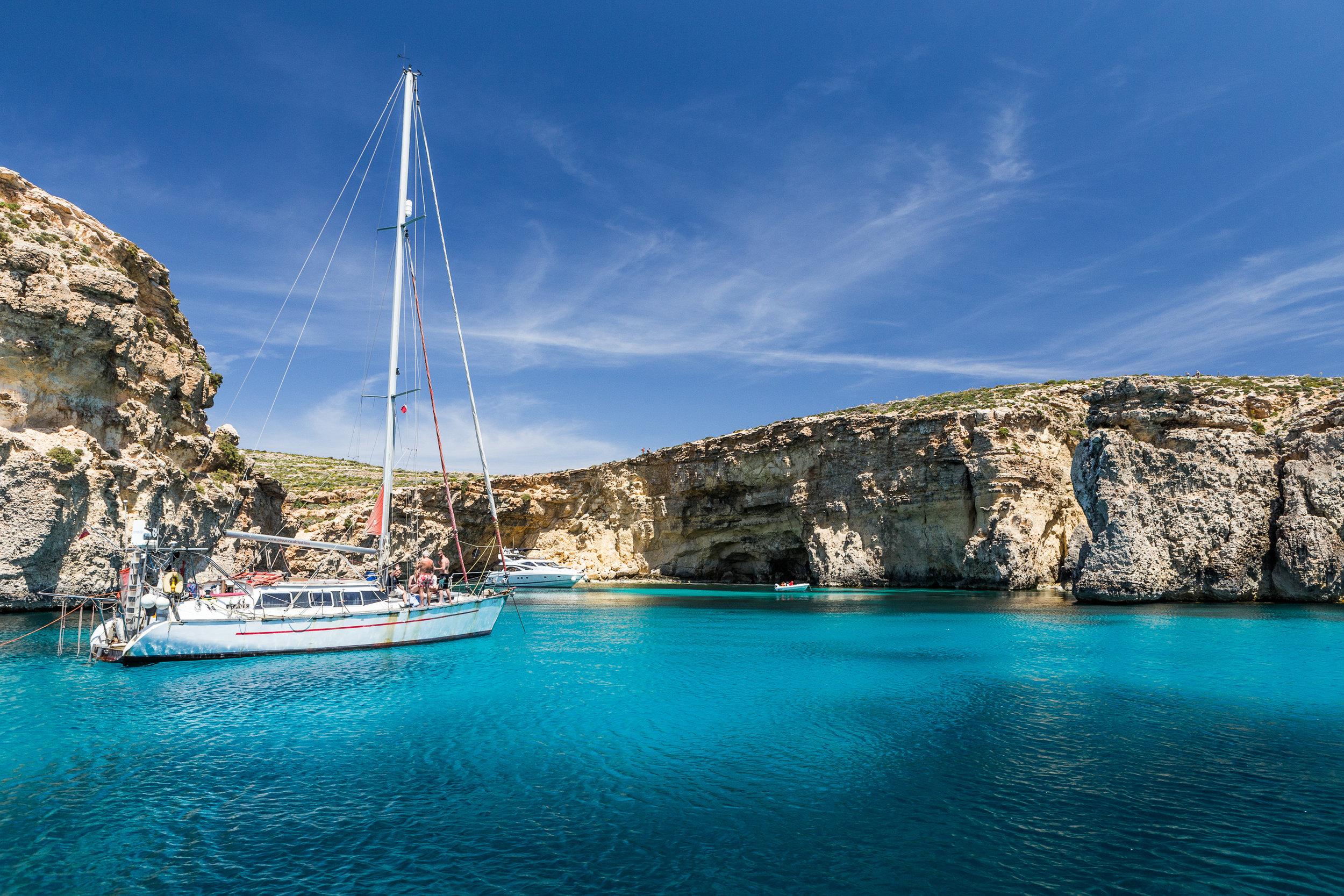 Malta - Riddere og et glass forfriskende Girgentina