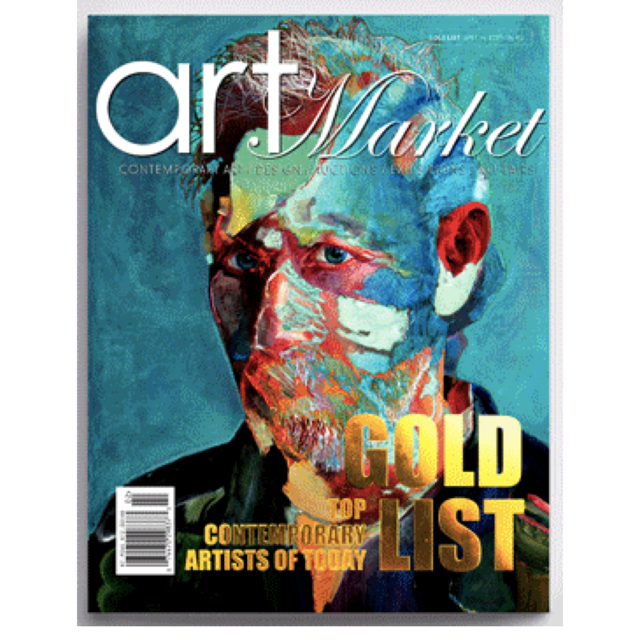 Art Market Magazine, Special Edition #2:  THE GOLD LIST: Top Contemporary Artist of Today 2018