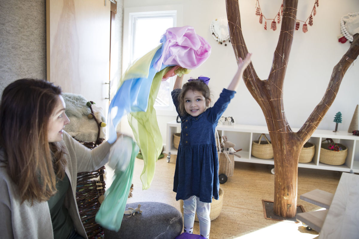 a FORT made specifically for children - Thank you to Cathy Jett of the Free Lance-Star for coming to play at FORT. - Feb 2018