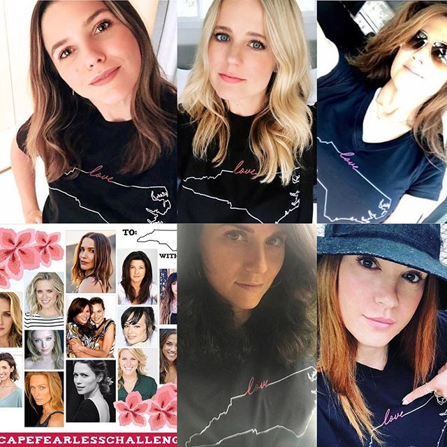 Dress like the OTH women you love! They are sending love to NC and you can too! #onlyonetreehillanditsourhome #capefearlesschallenge #insideoth The link is in the bio