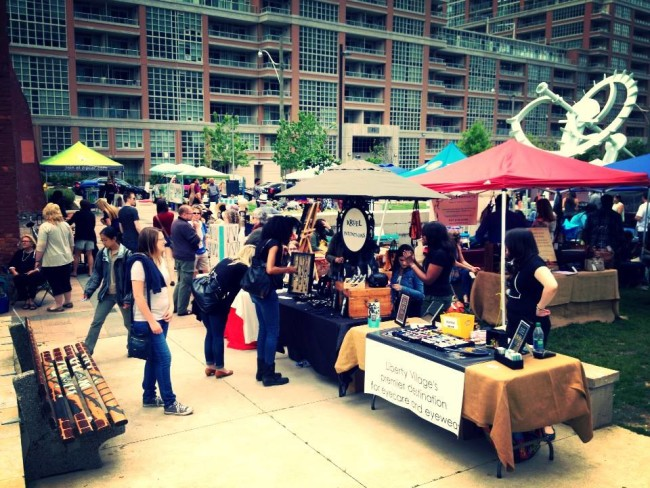 Liberty Village Art Crawl   June 9th, 11am to 6pm, Liberty Village Park   On Saturday, June 9th, Liberty Village Park will transform into an art-lovers haven for the sixth year in a row. With over 60 vendors selling all kinds of art, jewelry, home decor, and even food and beverages, visitors will be be able to browse and shop to their heart's context, all while be treating to live music in the park.