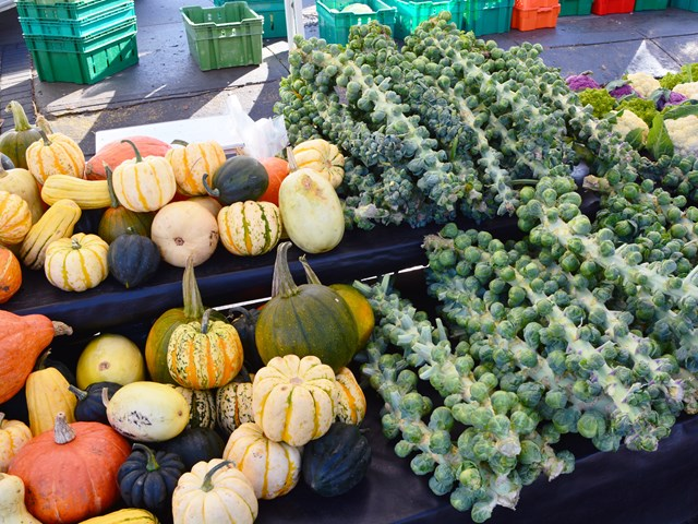 Visit a Local Farmer's Market - Market season isn't over just yet! Head out to one of the city's many local markets and pick up seasonal produce, local baked goods, and so much more.